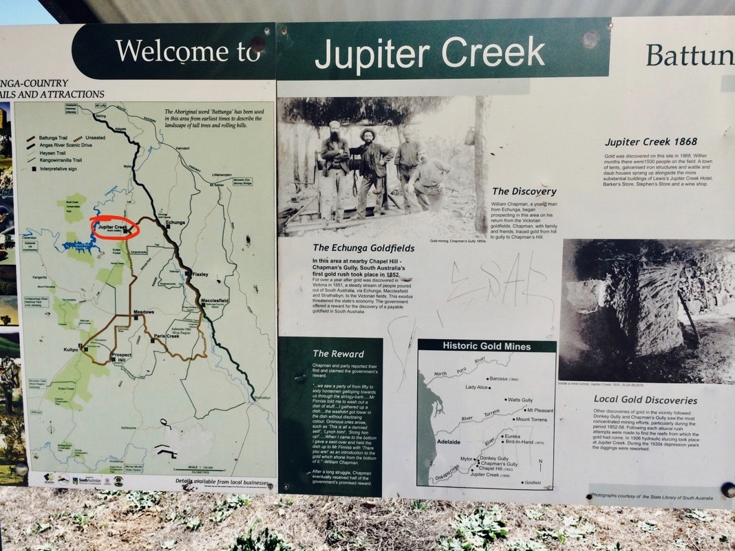 Jupiter Creek Adelaide