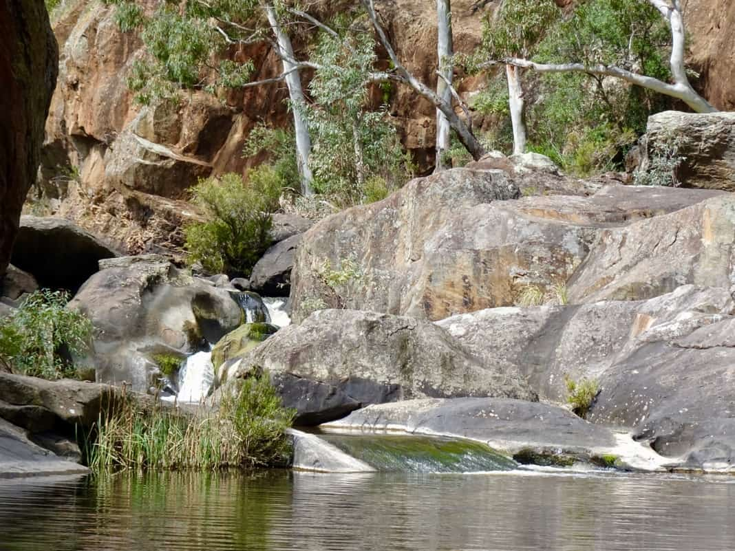 Punchbowl waterhole Onkaparinga Gorge