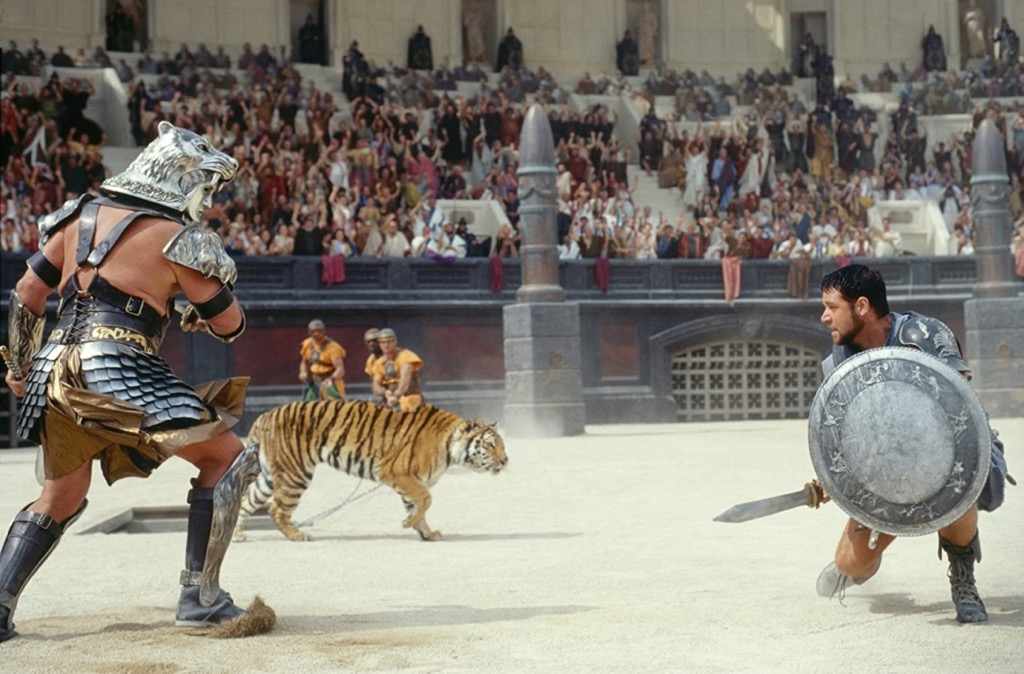 Gladiator 2000 Best Films set in Italy