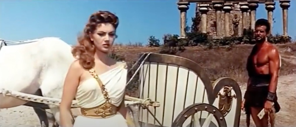 Hercules 1958 Movie scene