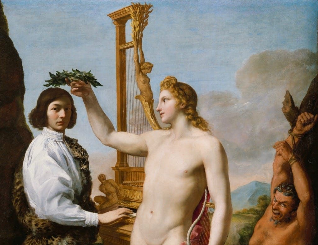 Crowned by Apollo Painting