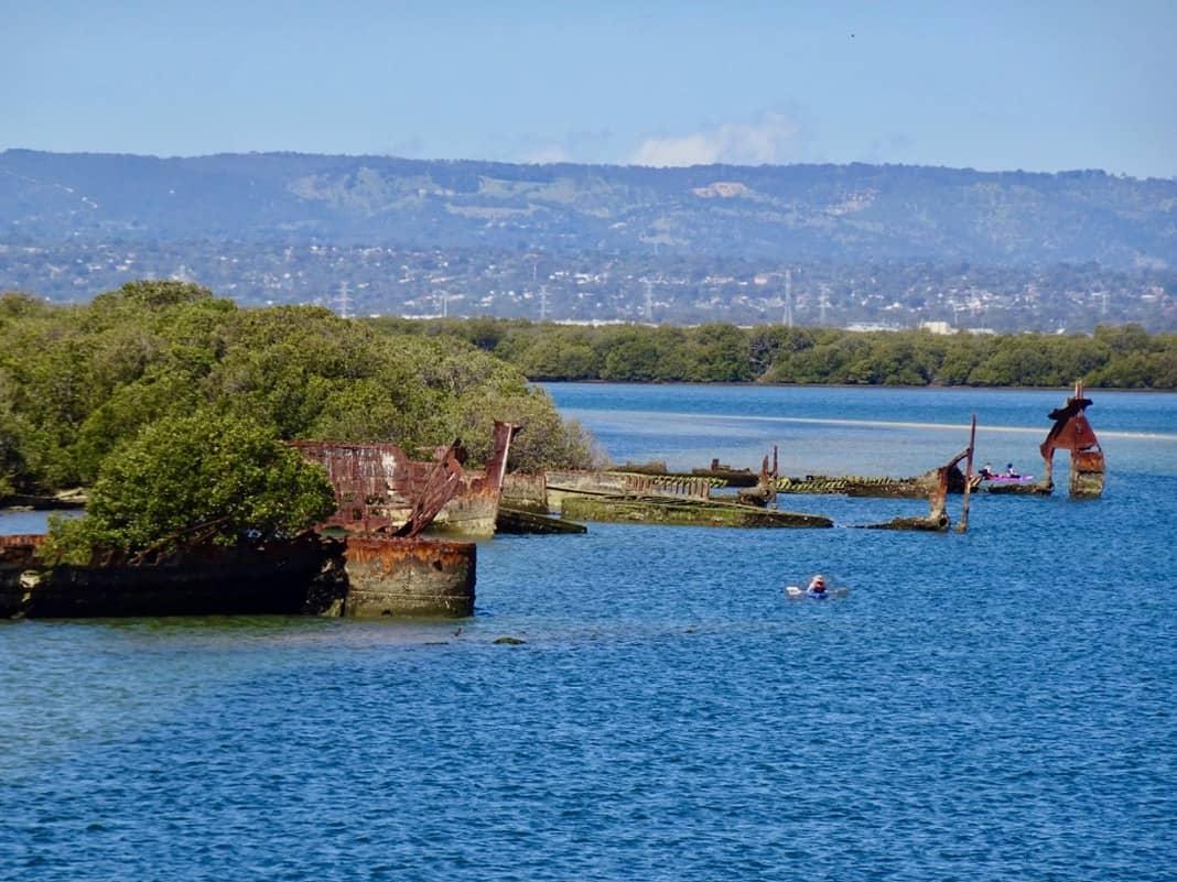 Garden Island Ships Graveyard