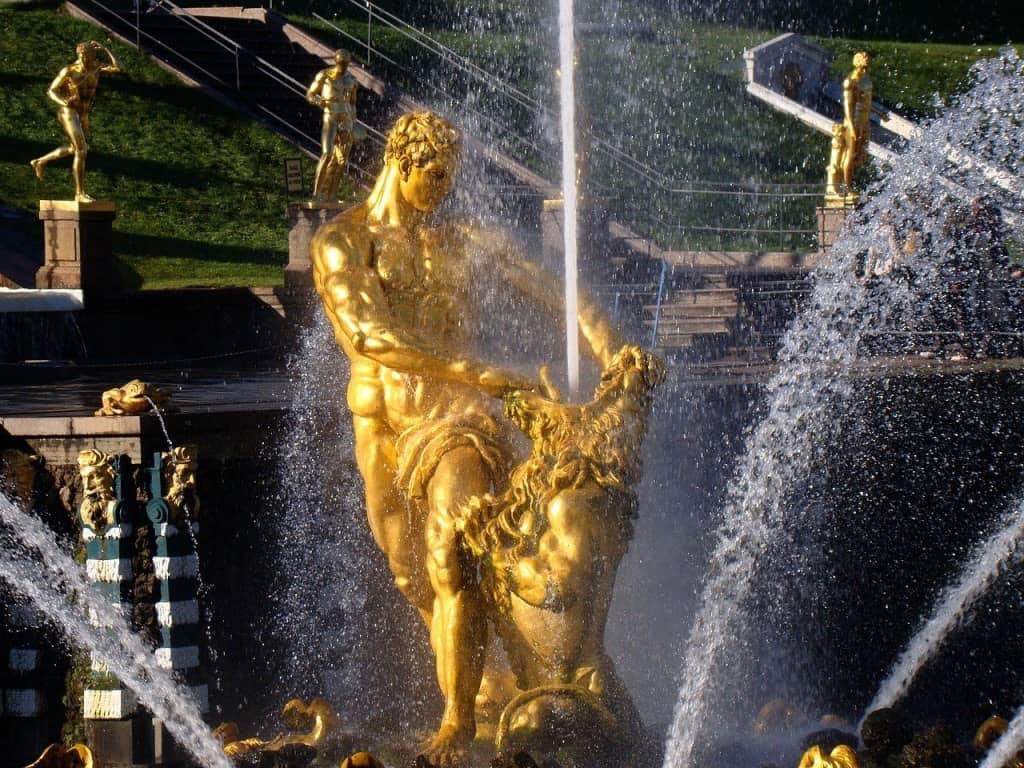 Hercules Fountain Russia