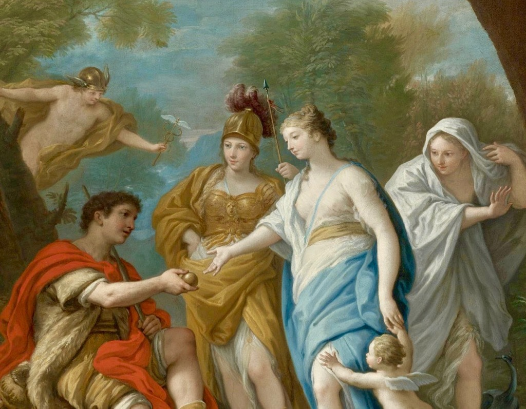 Judgement of Paris Painting