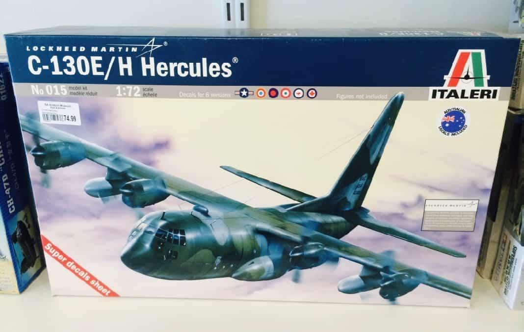 Lockheed Martin Hercules Airplane Kit