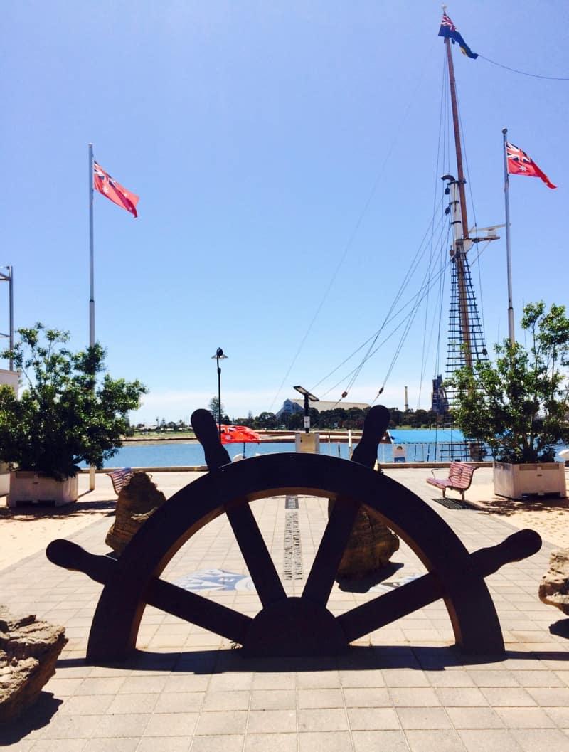 Lost at Sea Memorial Port Adelaide