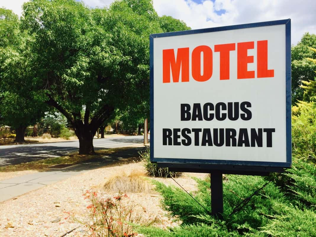 Baccus Restaurant Tanunda