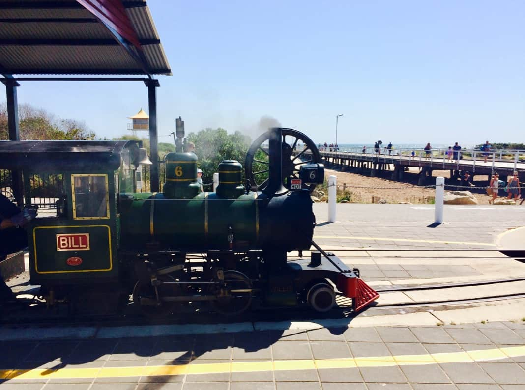 Semaphore Steam Train