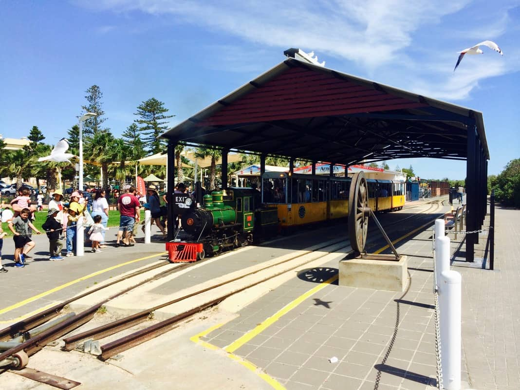 Steam Train at Semaphore