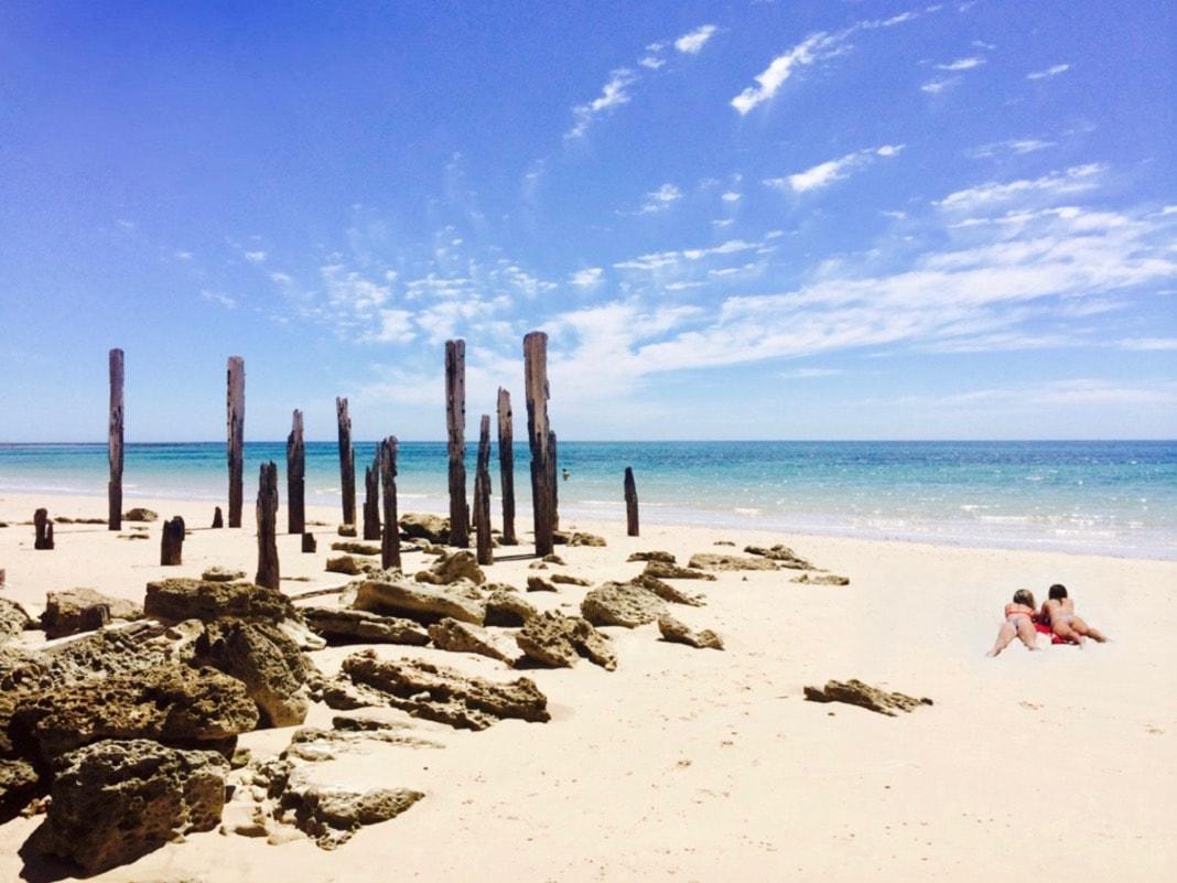 Beach in Adelaide South Australia