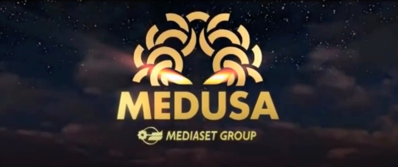 Medusa Film Production Company Logo