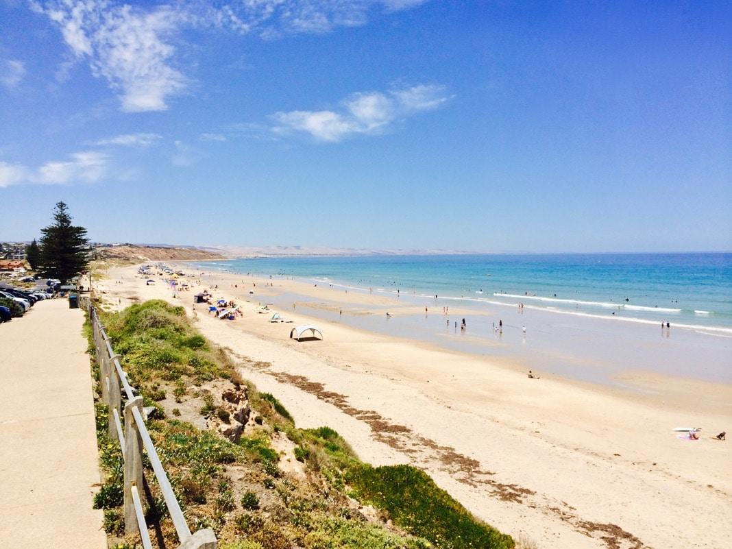 Moana Beach in Adelaide