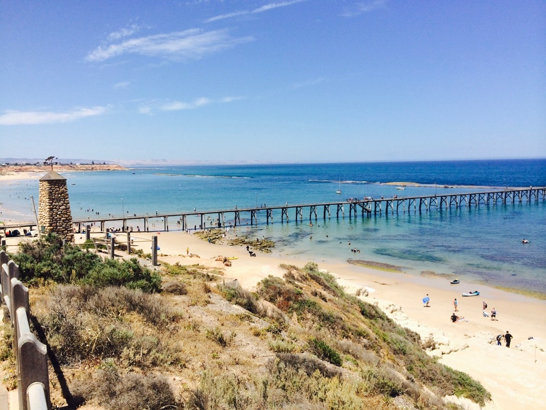 Port-Noarlunga Beach Reef and Jetty