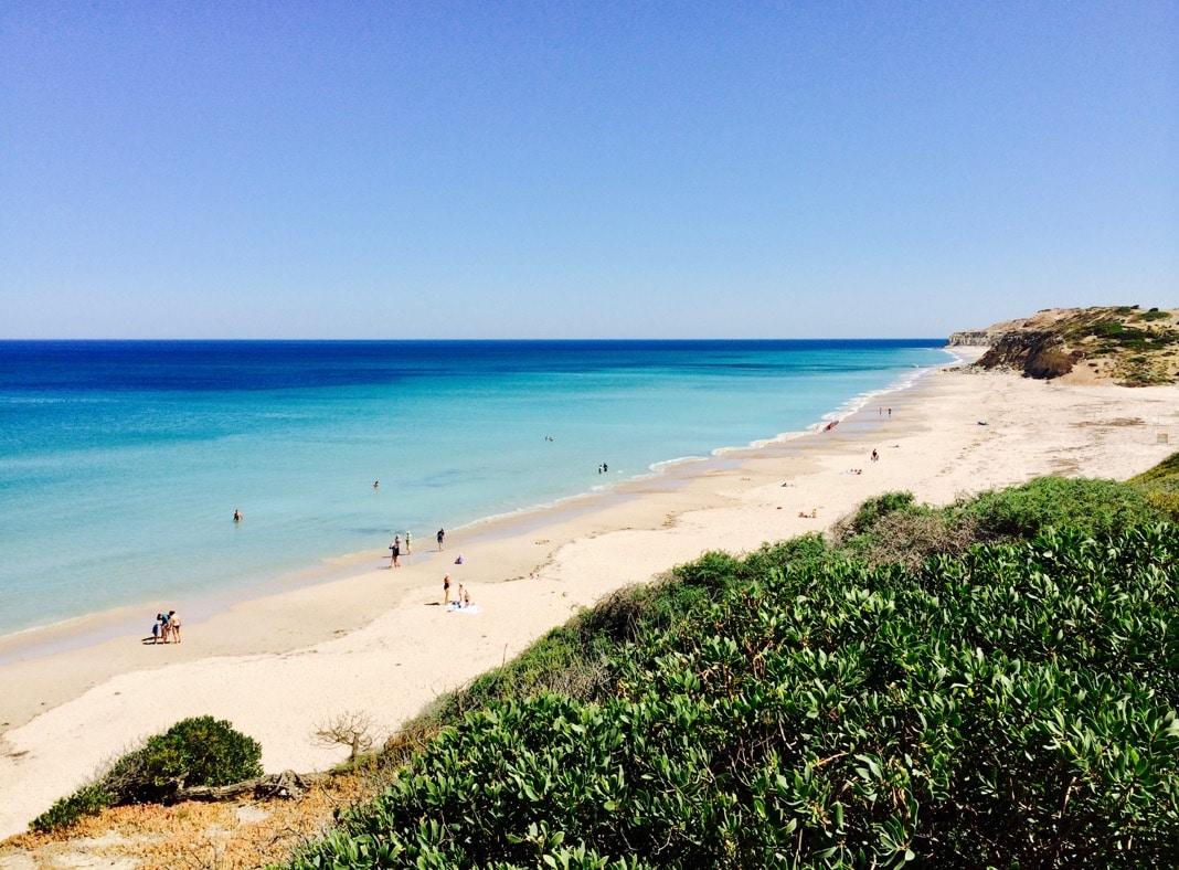 Port Willunga Beach in South Australia