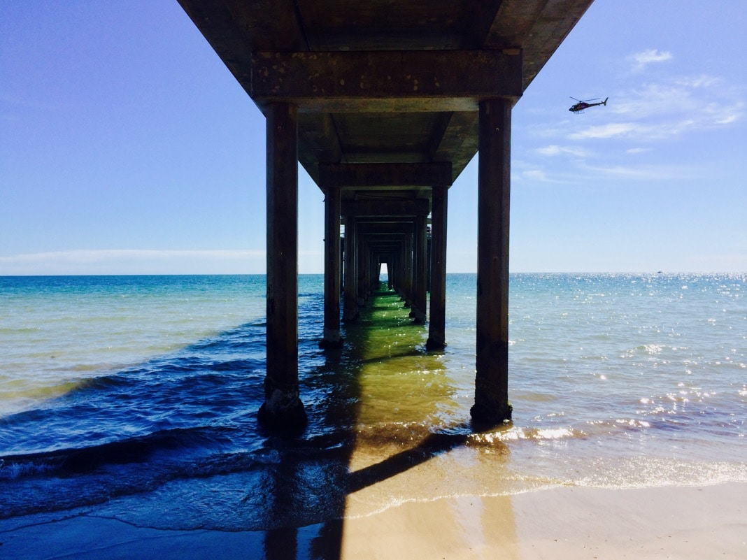 Underneath Brighton Jetty