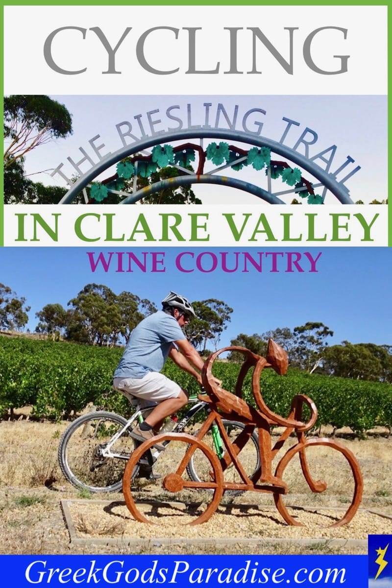 Cycling the Riesling Trail in Clare Valley Wine Country