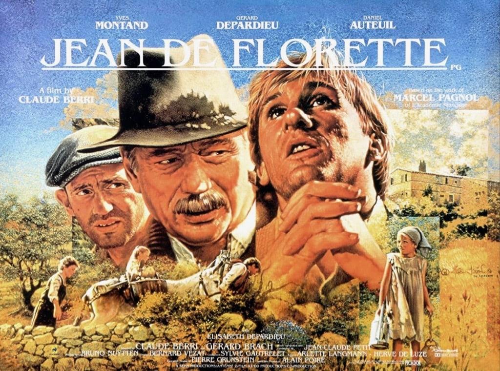 Jean De Florette Movie Poster 1986