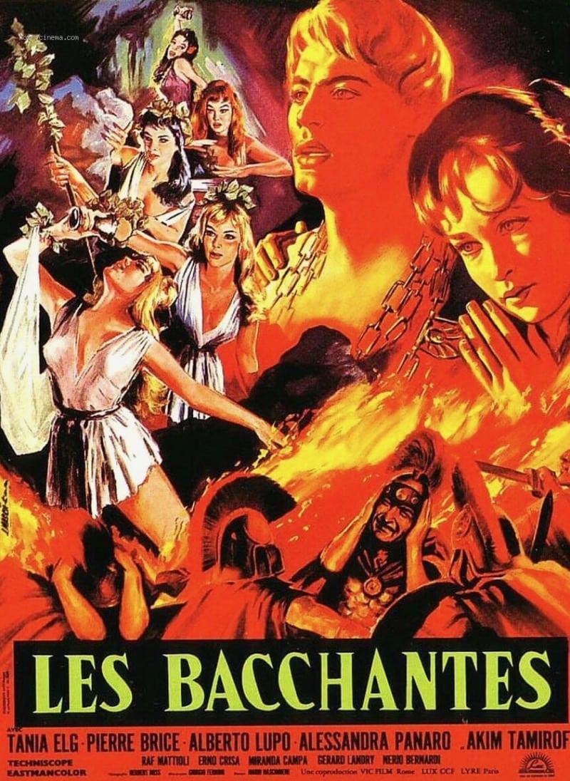 Les Bacchantes Movie Poster