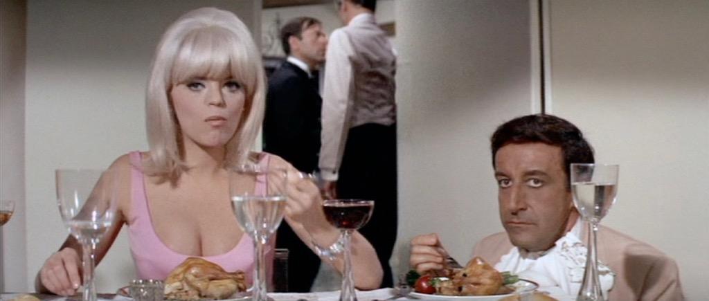 The Party 1968 Dinner Scene