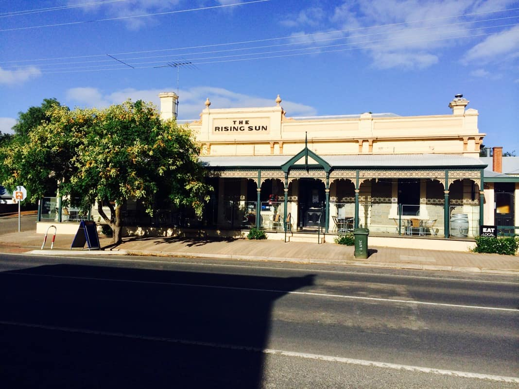 The Rising Sun Hotel in Auburn Clare Valley