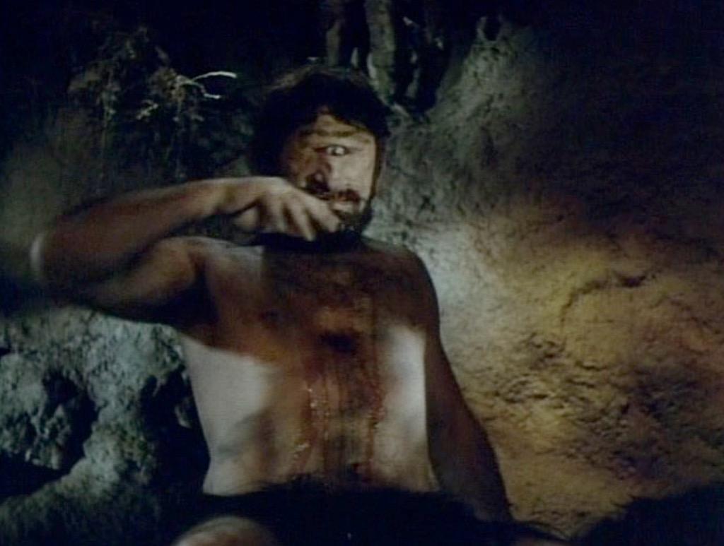 Wine Drunk Cyclops Scene in Ulysses 1954 fantasy adventure film