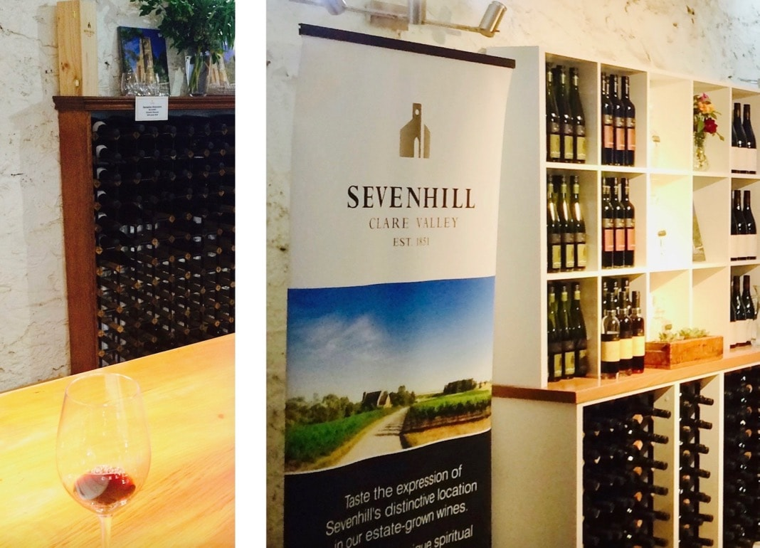 Wine Tasting at Sevenhill Clare Valley