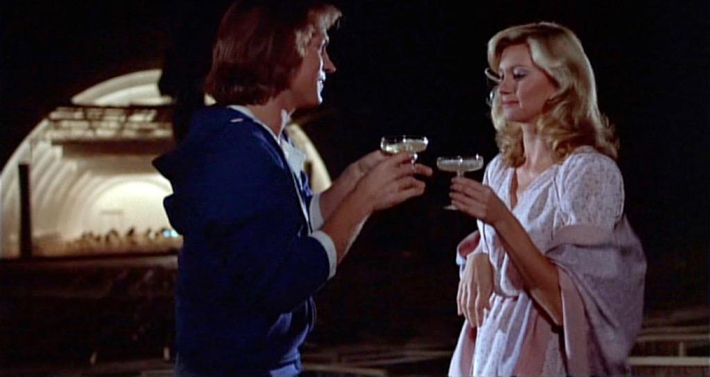 Xanadu Movie Romantic Scene