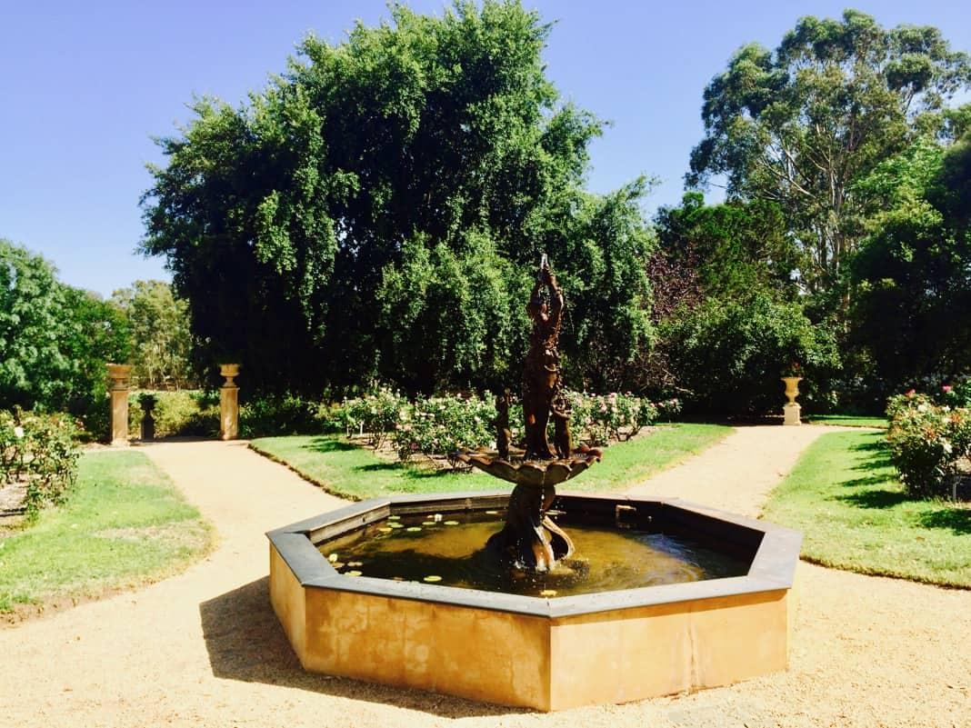 Barossa Chateau Garden South Australia