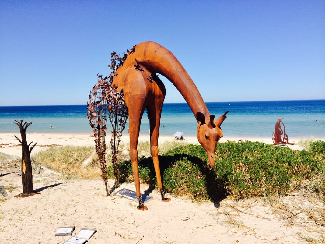 Giraffe Brighton Jetty Sculpture