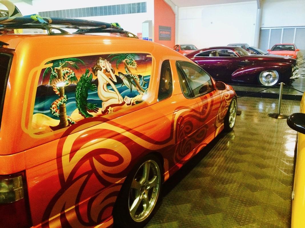 Holden Sandman National Motor Museum Birdwood