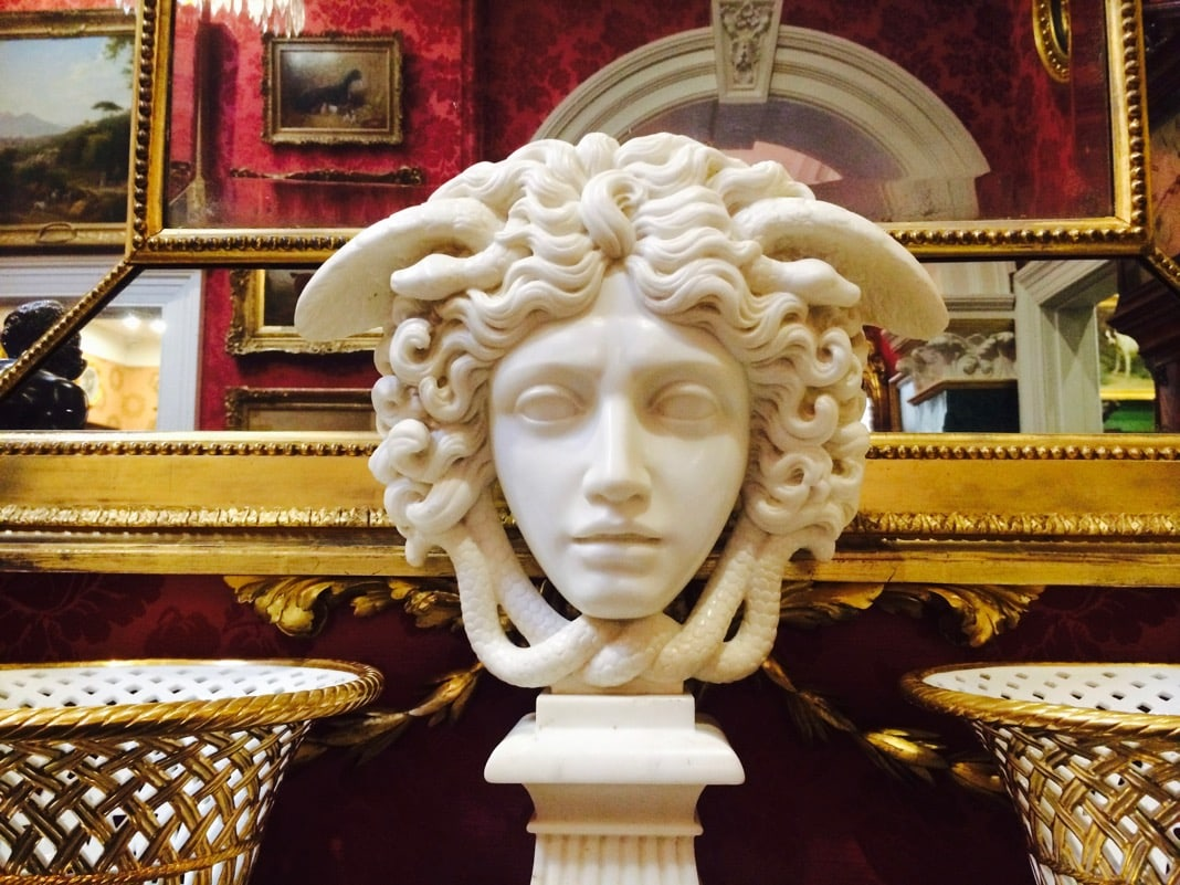 Medusa Head sculpture David Roche Museum Adelaide