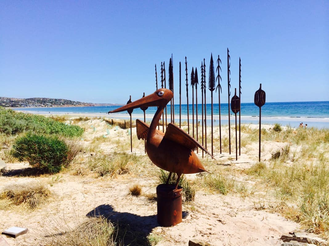 Pelican bird Sculpture