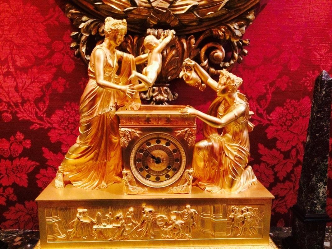 The Baptism of Achilles Mantel Clock