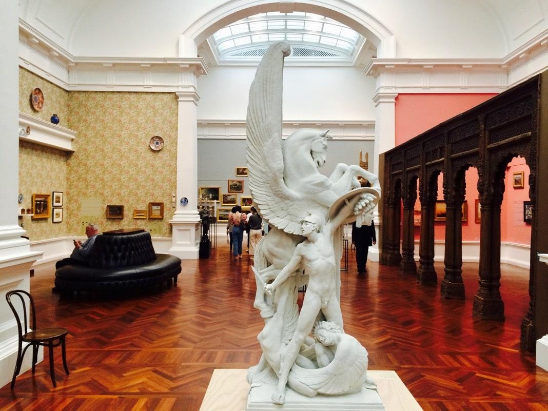 The Birth of Pegasus Sculpture Elder Wing Art Gallery of South Australia