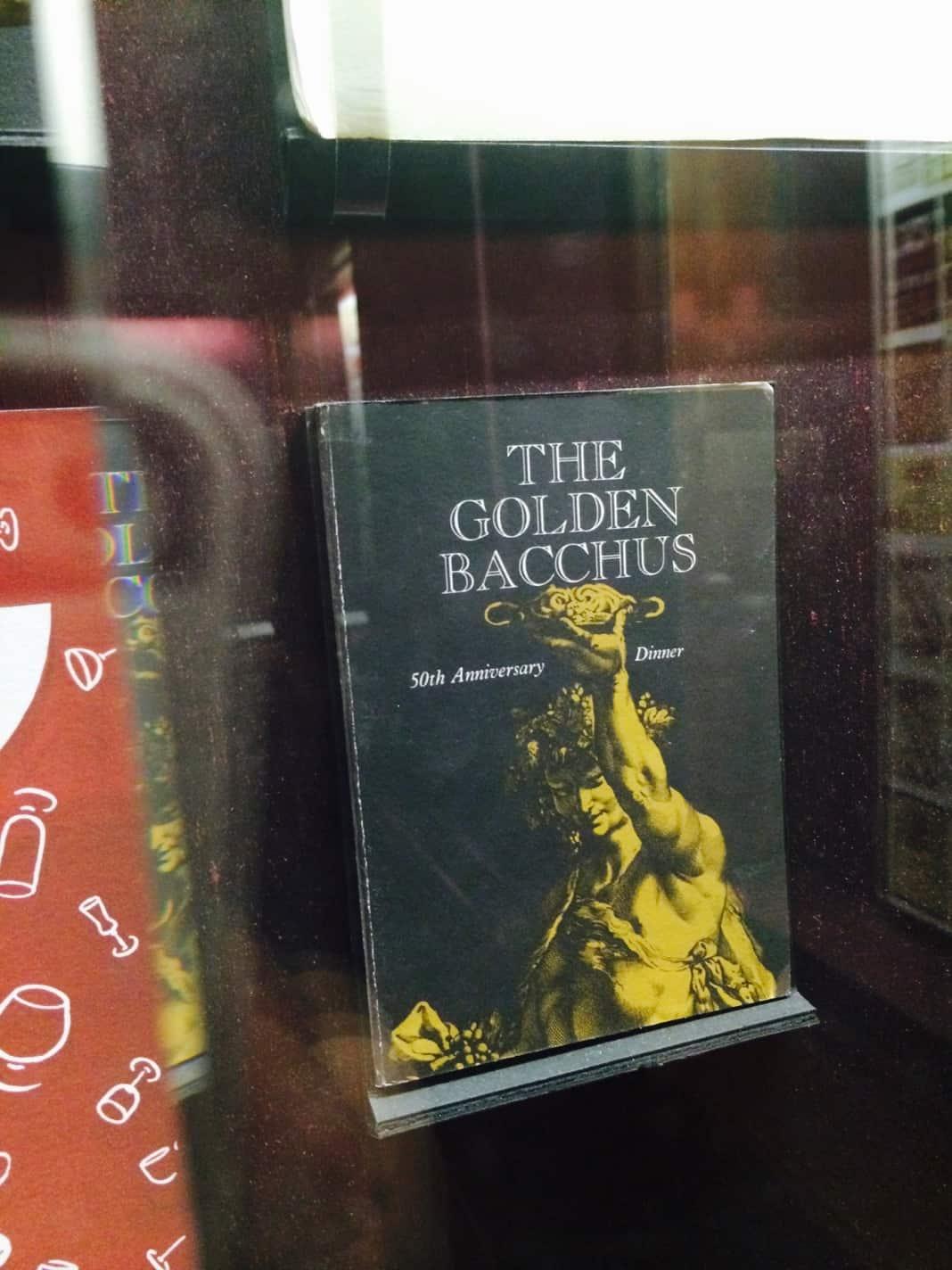 The Golden Bacchus