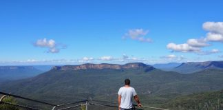 Blue Mountains Elysian Rock Lookout Views