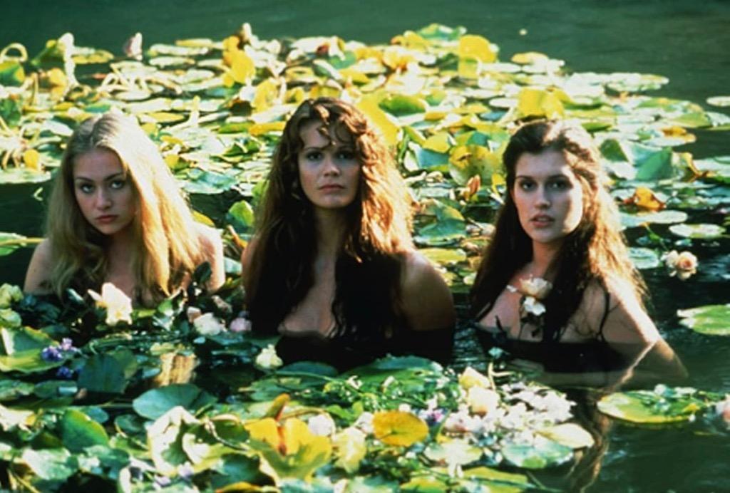 Sirens in Pool Movie Scene