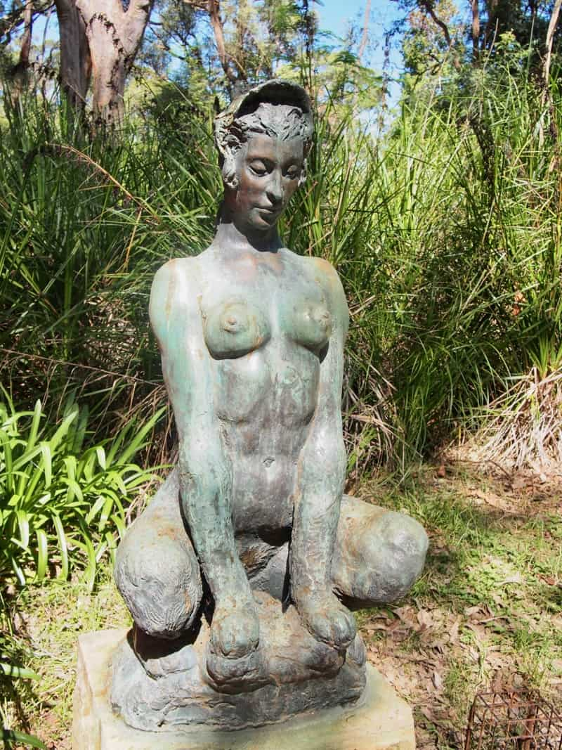 The Sphinx statue Norman Lindsay