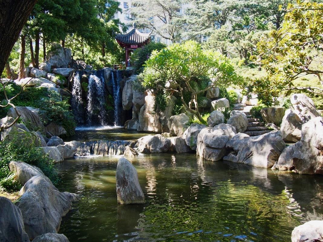 Waterfall Chinese Garden of Friendship