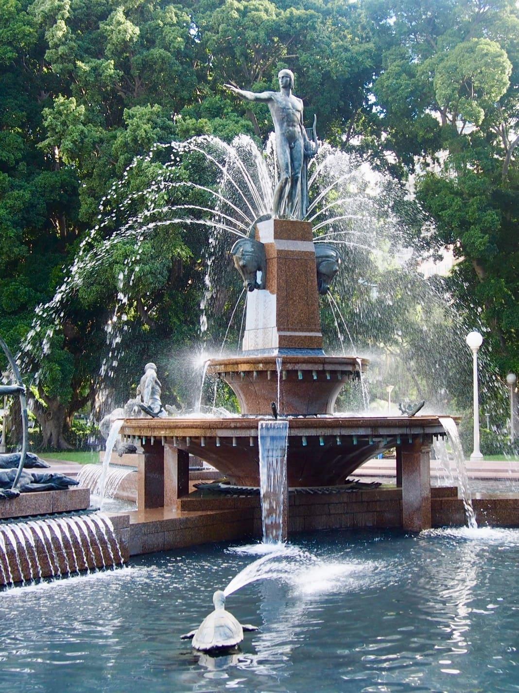 Apollo Archibald Fountain