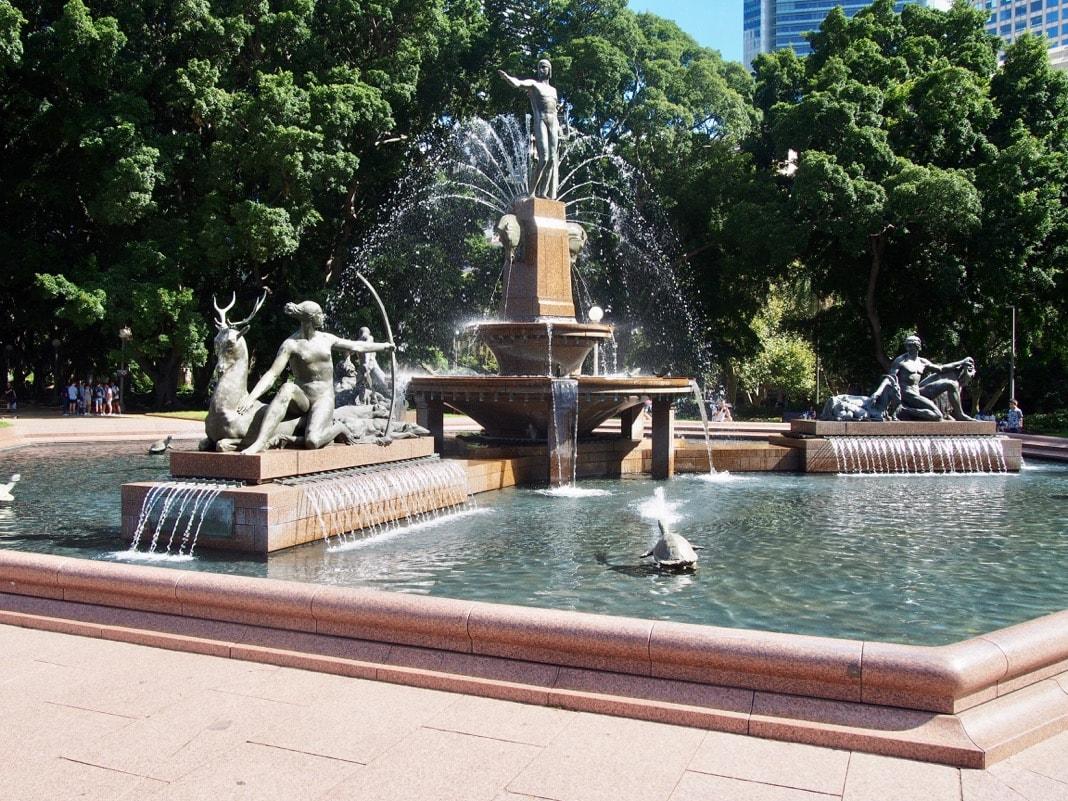 Apollo Fountain Archibald Fountain Hyde Park