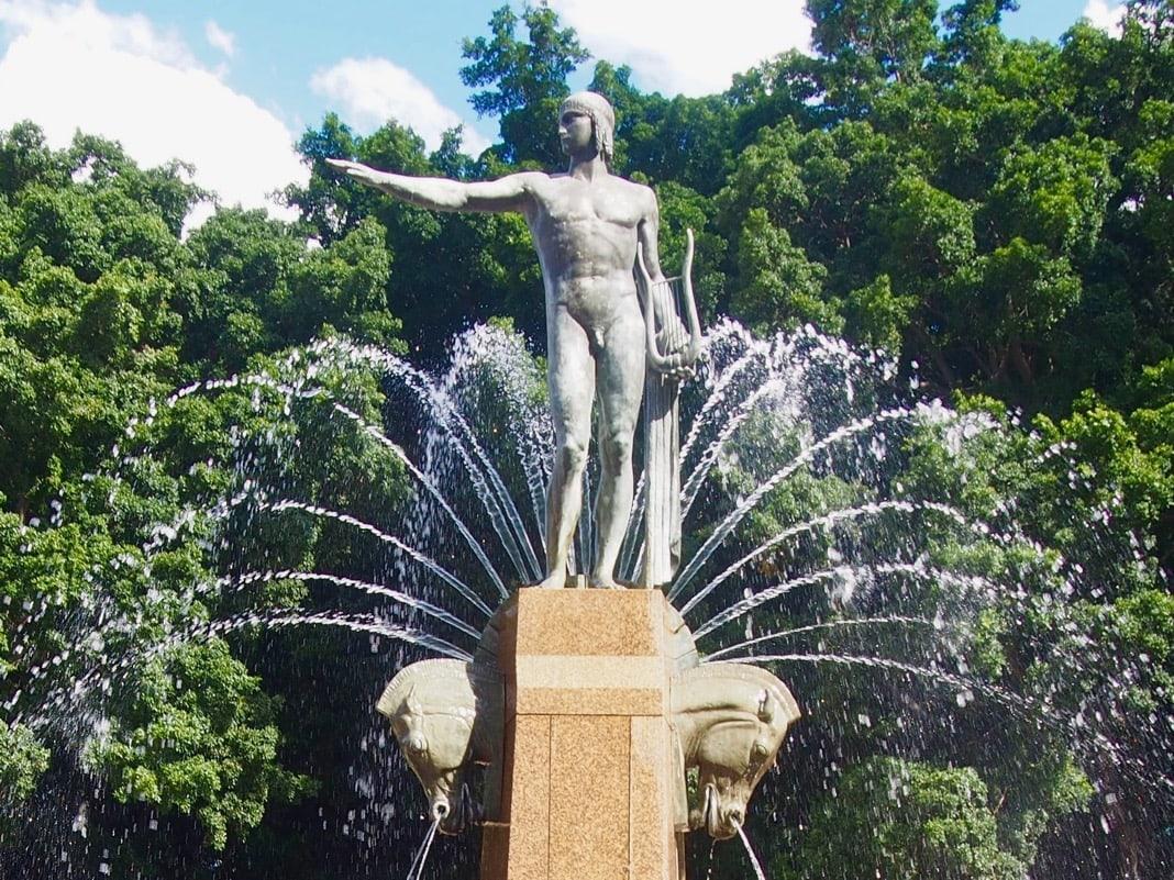 Apollo Fountain Hyde Park Sydney