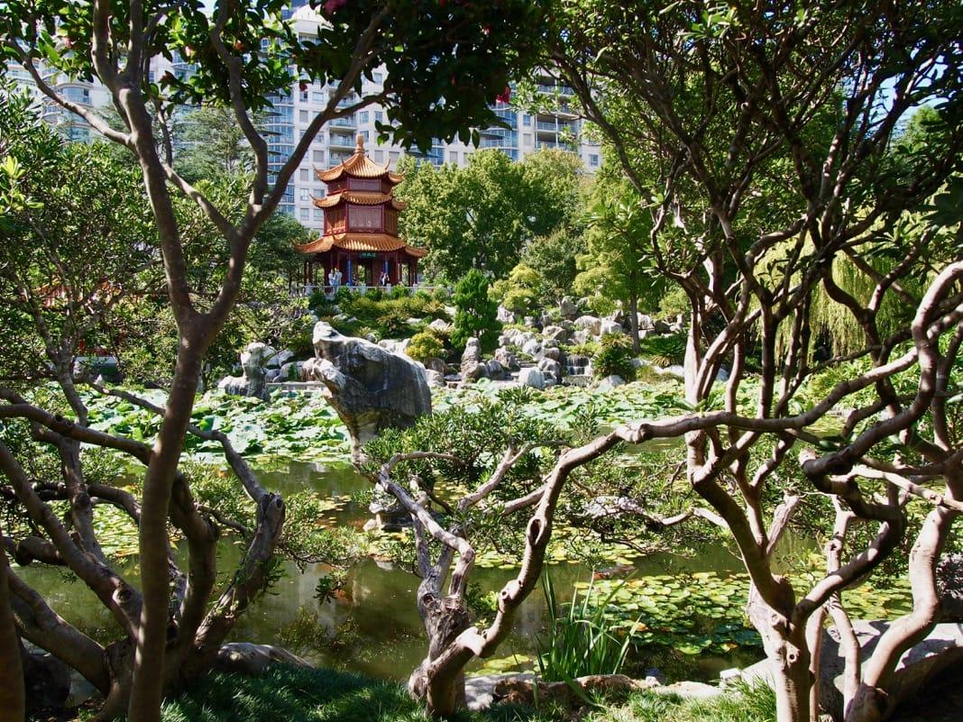 Chinese Garden of Friendship View