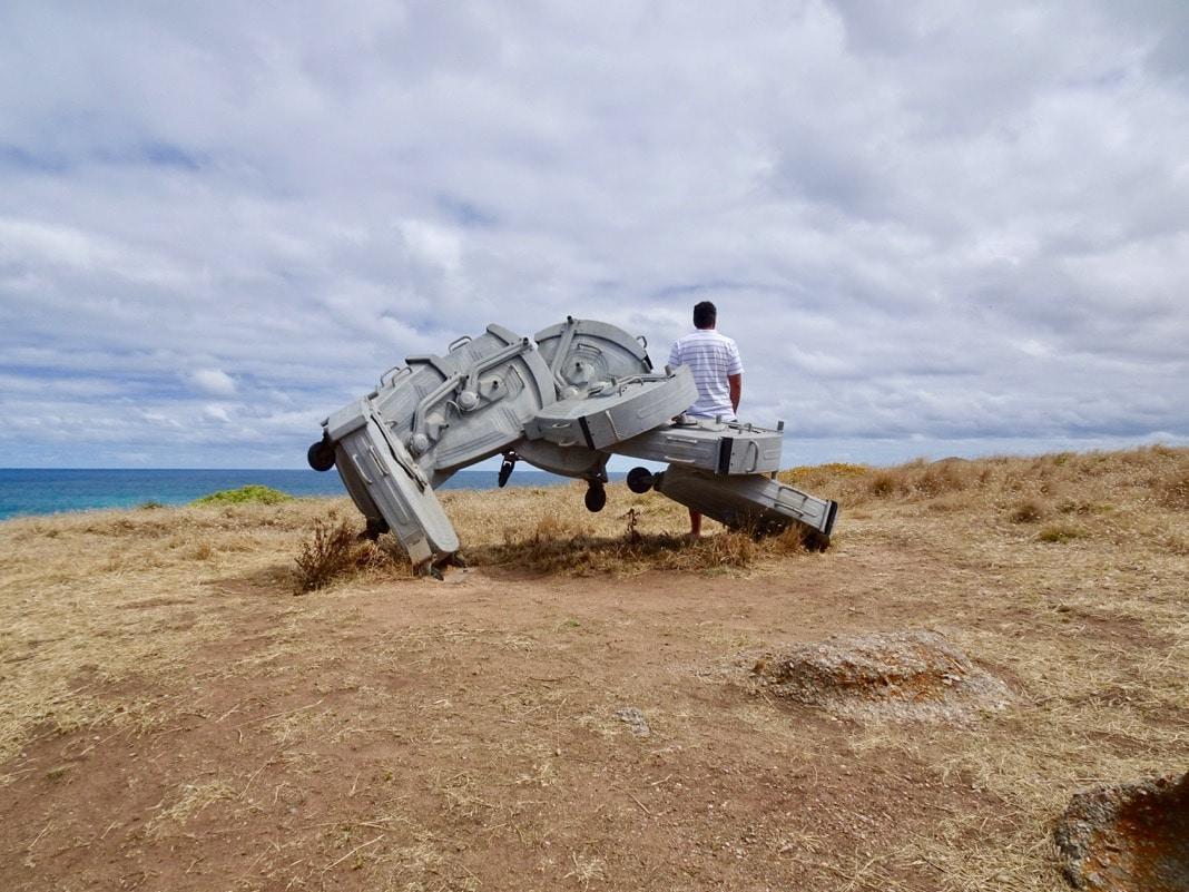 Element 0 Sculpture Encounters Granite Island