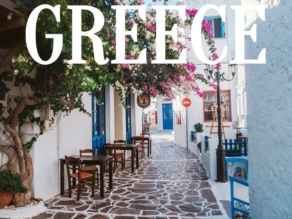 Greece Travel Words