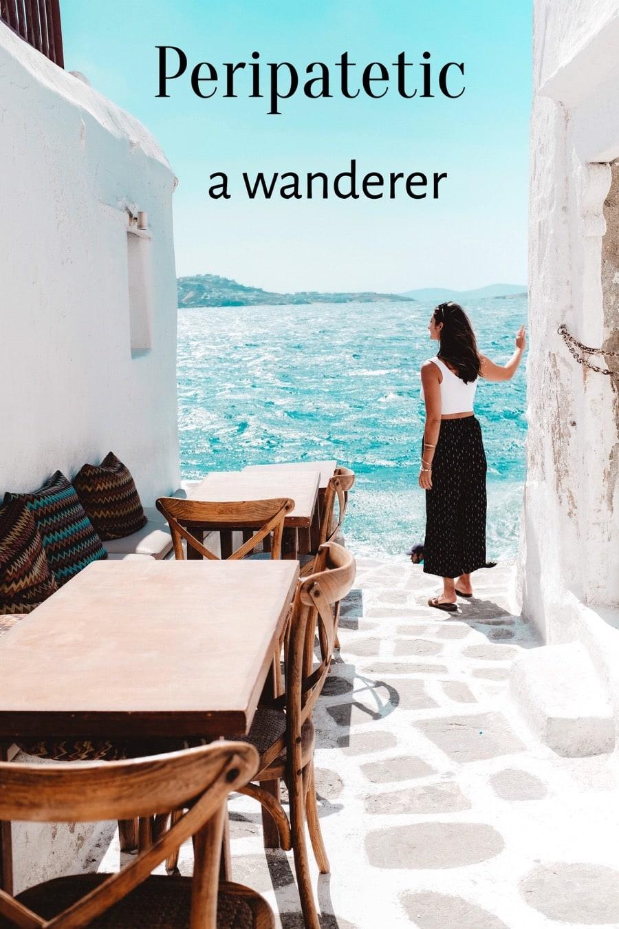 Greek Travel Word