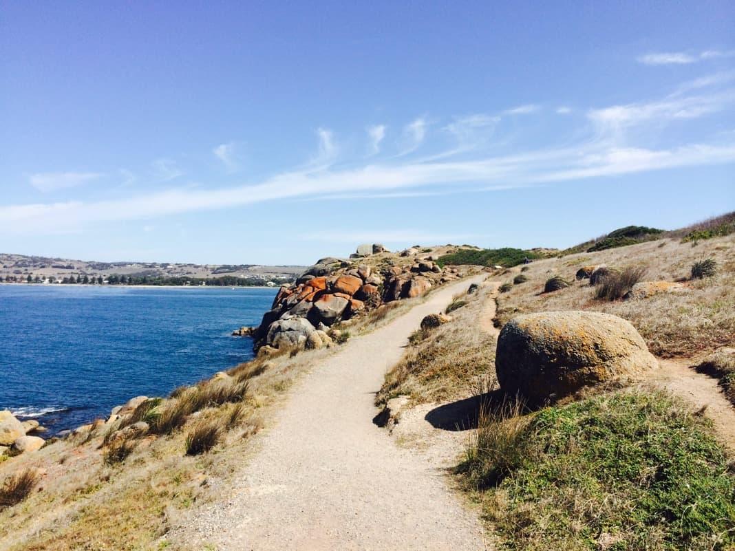 Kaiki Walking Trail Granite Island