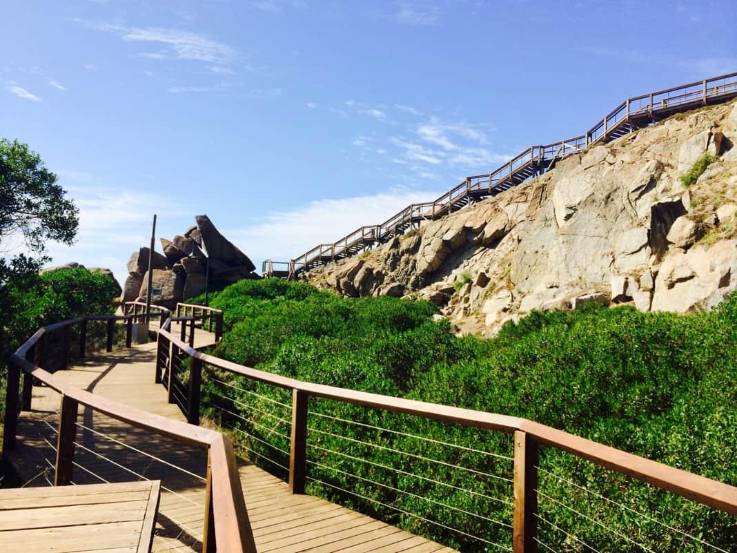 Staircase Granite Island