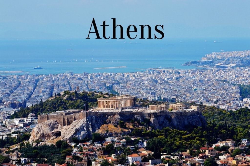 Travel Words Athens