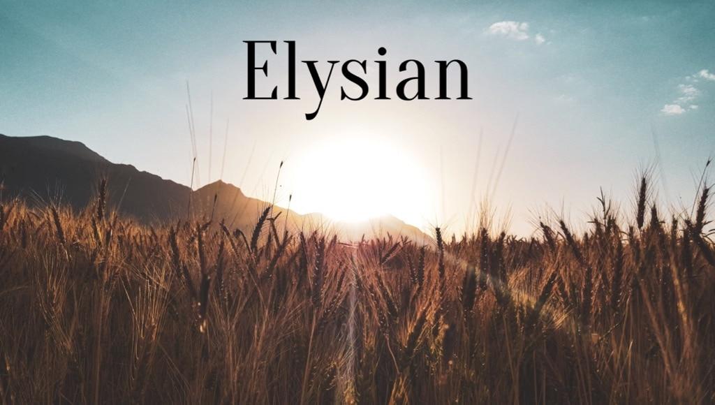 Travel Words Elysian
